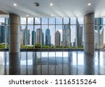 panoramic skyline and buildings ... | Shutterstock . vector #1116515264