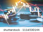 candlestick chart suitable for... | Shutterstock . vector #1116530144