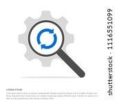 reload icon     vector icon   Shutterstock .eps vector #1116551099