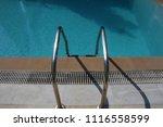 swimming pool steps   Shutterstock . vector #1116558599