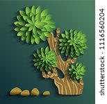 vector modern illustration of... | Shutterstock .eps vector #1116560204
