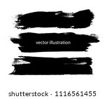 grunge paint stripe . vector... | Shutterstock .eps vector #1116561455