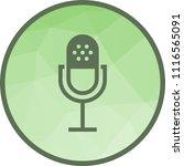 mic  audio  sound | Shutterstock .eps vector #1116565091