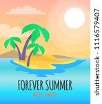 forever summer best party...   Shutterstock .eps vector #1116579407