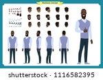 standing young businessman.... | Shutterstock .eps vector #1116582395