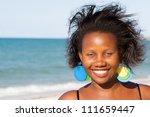 portrait of uganda woman | Shutterstock . vector #111659447