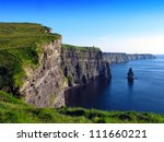 cliffs of moher co. clare... | Shutterstock . vector #111660221