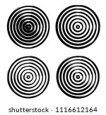 lines in circle form . vector...   Shutterstock .eps vector #1116612164