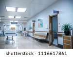 hallway the emergency room and...   Shutterstock . vector #1116617861