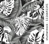 tropic seamless pattern with... | Shutterstock .eps vector #1116641141