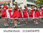 funchal  madeira  portugal  ... | Shutterstock . vector #1116656495