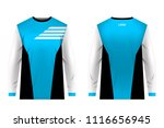 templates jersey for... | Shutterstock .eps vector #1116656945