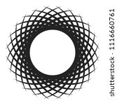 dynamic curved elements that... | Shutterstock .eps vector #1116660761