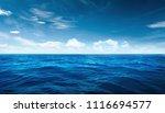 blue ocean day light   Shutterstock . vector #1116694577