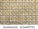 traditional portuguese azulejo... | Shutterstock . vector #1116694751