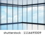 front big hall and wide window... | Shutterstock . vector #1116695009