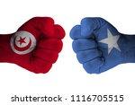 tunisia vs somalia | Shutterstock . vector #1116705515