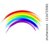 Art Rainbow Abstract Vector...