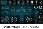 infographics of freight...   Shutterstock .eps vector #1116731351