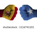 spain vs somalia | Shutterstock . vector #1116741101