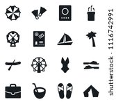 set of simple vector isolated... | Shutterstock .eps vector #1116742991