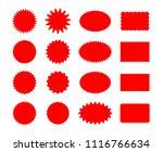 star price stickers. starburst... | Shutterstock .eps vector #1116766634