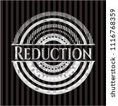 reduction silvery emblem | Shutterstock .eps vector #1116768359