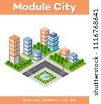 urban area of the city | Shutterstock . vector #1116768641