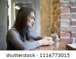 portrait of beautiful young... | Shutterstock . vector #1116773015