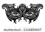 black silhouette of a... | Shutterstock .eps vector #1116804647