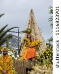 funchal  madeira  portugal  ... | Shutterstock . vector #1116823901