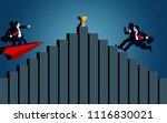 business success concept.... | Shutterstock .eps vector #1116830021