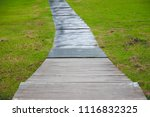 pathway and meadow grass....   Shutterstock . vector #1116832325