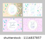 trendy elegant creative... | Shutterstock .eps vector #1116837857
