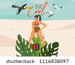 hand drawn vector abstract... | Shutterstock .eps vector #1116838097