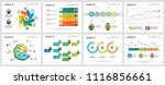 colorful statistics or training ... | Shutterstock .eps vector #1116856661