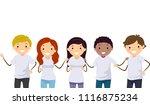 illustration of teenage girl...   Shutterstock .eps vector #1116875234