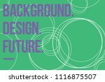 abstract color gradient... | Shutterstock .eps vector #1116875507