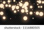 many random falling golden...   Shutterstock .eps vector #1116880505