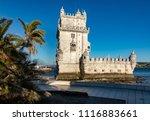 torre de belem | Shutterstock . vector #1116883661
