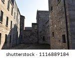 Stock photo buildings at kilmainham gaol 1116889184
