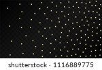 many random falling golden...   Shutterstock .eps vector #1116889775
