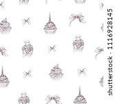 vector illustration. pen style... | Shutterstock .eps vector #1116928145