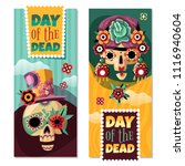 dead day 2 colorful decorative... | Shutterstock .eps vector #1116940604