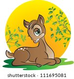 vector illustration of  a young ... | Shutterstock .eps vector #111695081