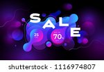colorful geometric background... | Shutterstock .eps vector #1116974807