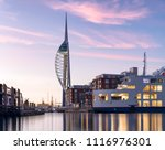 colourful evening portsmouth.
