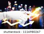 artificial intelligence   robo... | Shutterstock . vector #1116980267