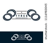 tyre shop logo design   tyre... | Shutterstock .eps vector #1116983045