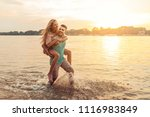 shot of an affectionate young... | Shutterstock . vector #1116983849